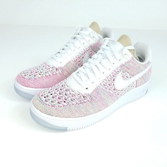 7797f2a066d NIKE Air Force 1 Flyknit Low Womens Shoes